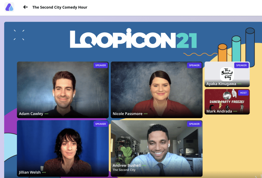 Loopicon 2021 Second City Comedy Show
